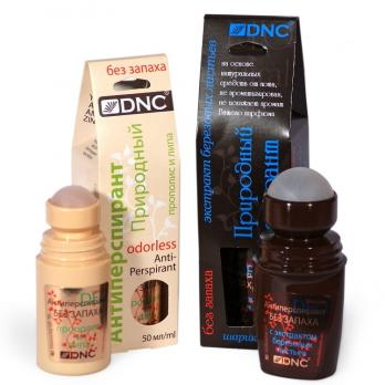 DNC Антиперспирант экср. Березы для чувст.кожи 50 мл + Антиперспирант прополис и липа 50 мл