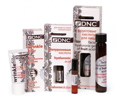 DNC Заполнитель морщин для области вокруг глаз, Фруктовая кислота 26 мл,Гиал. кислота 3 мл
