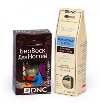 DNC Кокосовое масло 60 мл и Биовоск укрепляющий 6 мл
