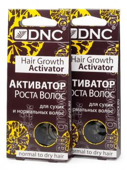 DNC Активатор роста  для сухих и норм. волос, набор из 2 шт 3х15мл.