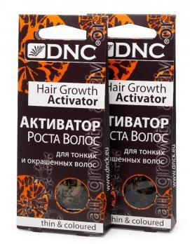 DNC Активатор роста для тон. и окр. волос, набор из 2 шт 3х15мл