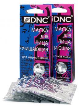DNC  МАСКА для лица очищающая, набор из 2 шт, 3*15 мл