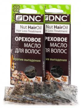 DNC Масло ореховое для волос питат.(п/выпадения), набор из 2 шт 3*15мл