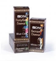DNC Набор косметической глины: Белая 130 г, Зеленая 100 г, Голубая 130 г