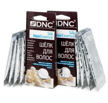 DNC ШЕЛК для волос, набор из 2 шт 4x10 мл