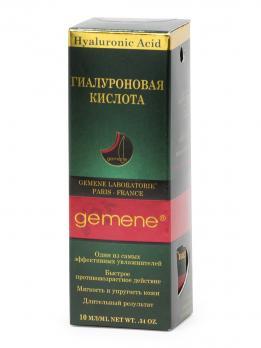 Gemene Гиалуроновая кислота, 10 мл, стекло, пипетка, 3
