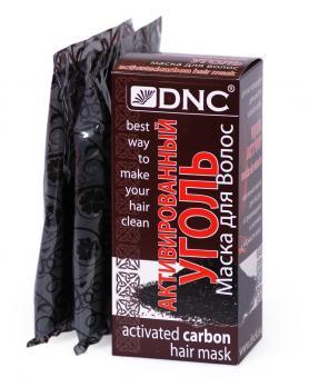 маска для волос dnc активированный уголь