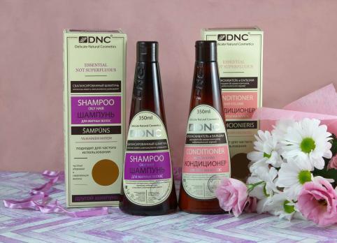 DNC Шампунь для жирных волос 350 млl (без SLS)
