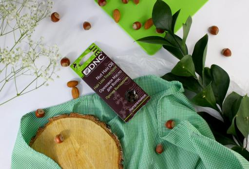 DNC Масло ореховое для волос Питательное против выпадения, 3х15 мл