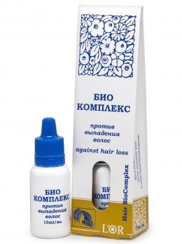 L`Or, Биокомплекс против выпадения волос, 15 мл, капелька